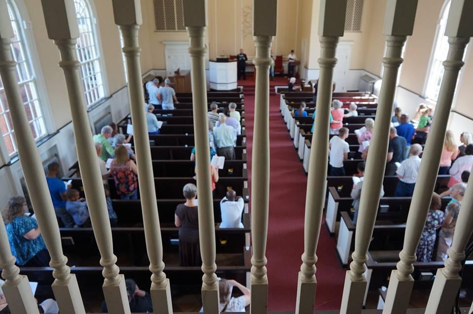 Worship - from choir loft rails - 11998923_10153720591495530_7502353753222504145_n